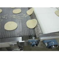 China Biscuit Baking Honeycomb Food Conveyor Belt Flat Flex Design Anti Corrosion on sale