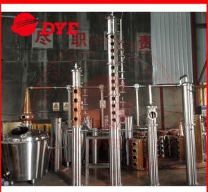 Quality High-Effective Alcohol Distiller machine , Copper Moonshine Still Kits wholesale