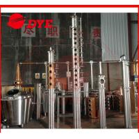 Quality 500L Alcohol Distillation Equipment Commerical , Steam Distillation Apparatus wholesale