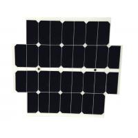 China Lightweight Flexible Custom Solar Panels White Back Sheet With SunPower Solar Cell on sale