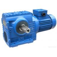 Quality High Torque Industrial Helical Worm Gear Motor SF57 / Shaft Mounted Gear Reducer wholesale