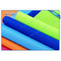 Quality Green / Blue Package Material Polypropylene Non Woven Fabric Spunbond 80gsm Various Colors wholesale