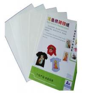 China Hot Light Inkjet Heat Transfer Paper for Light Cotton T-shirt , mug, cap, modal on sale