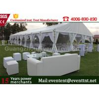 Quality Luxury Wedding Party Tent event marquee With Hard ABS wall  / Glass Wall Easy Assemble wholesale
