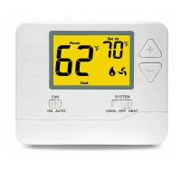 Quality Central Air Conditioner Digital Room Thermostat With Single Stage 1 Heat /1Cool wholesale