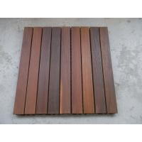 Quality IPE Decking Tiles 600mm x 600mm wholesale