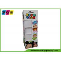 Quality Quadra Sides Toys Stand Up Cardboard Display Movable Type With Wheels FL199 wholesale