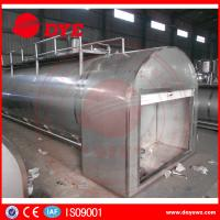 Quality Refrigerated Milk Tank Stainless Steel Tanks For Dairy Milk Transportation wholesale