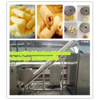 Quality professional factory supplier sells automatic low cost  corn puffed snack food machine wholesale