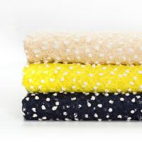 China Knitted Snowflake Bead Blending Process Polyester Fabric on sale