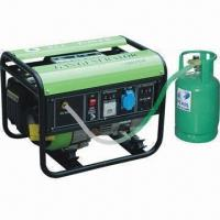 China 1kW Nature Gas/LPG Generator with Single-phase Synchronous Brush Alternator, Suitable for Home Usage on sale