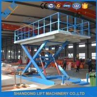 Buy cheap 3T 3M Garage Parking System Hydraulic Scissor Car Lift With CE from wholesalers