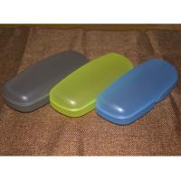 Cheap Customised Reading Eyeglass Cases 156 * 61 * 44mm ABS Plastic Spectacle Cases for sale