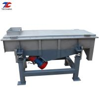 China Mining Machine Square Linear Vibratory Screening Equipment 2 Vibration Motor Driving on sale