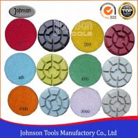 Quality 100mm Diamond Polishing Pads for Concrete , Polishing the Concrete Countertop and Floor wholesale