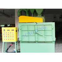 Buy cheap Track Bead Shot Blasting Machine For Metal Castings Surface Sand Removing product