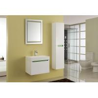 Quality 15mm PVC Board Modern Bathroom Sink Vanity With Resin / Glue Basin Aluminium Handles wholesale