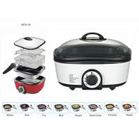Quality 8 In 1 Electric Multi Cooker , Food Pressure Cooker Adjustable Temperature Settings wholesale