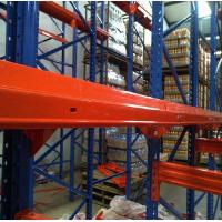 China Industrial Drive In Drive Through Racking System Heavy Duty Steel Q235 Material on sale