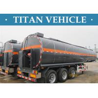 Quality 3 Axles Tanker Trailer Insulated Heated Bitumen Transport Semi Trailer wholesale
