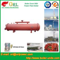 Quality Cement industry steam boiler mud drum TUV wholesale