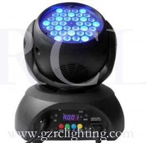 China 36*3w rgb led wash moving head lights disco dj dmx stage lights on sale