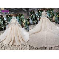 Buy cheap High End Customize Off Shoulder Sequins Bridal Ball Gowns Vintage Luxury Wedding from wholesalers