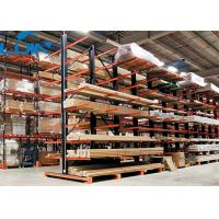 Buy cheap Cargo Metal Industrial Storage Rack 11 Arm Level Works Forklift Operation product