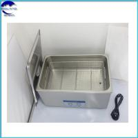 Quality 38L Desktop Stainless Steel digital power adjustable Ultrasonic Cleaners for Denture Cleaning wholesale