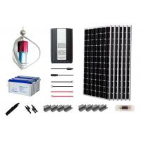 China Advanced  Off Grid Hybrid Power Systems 200W Home Solar Kit Long Service Life on sale