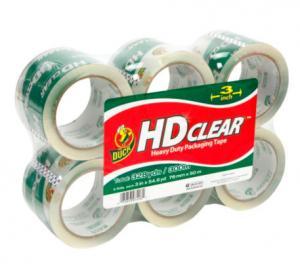 Waterproof Clear Colored Tape , BOPP Box Sealing Tape Custom Logo