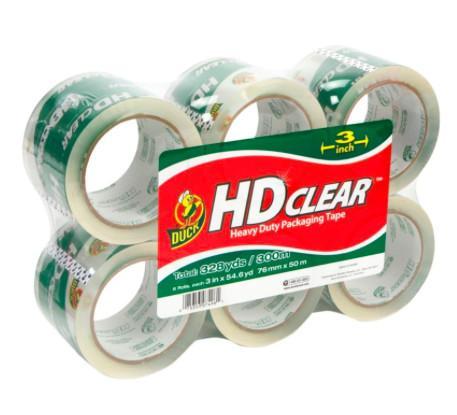 Cheap Waterproof Clear Colored Tape , BOPP Box Sealing Tape Custom Logo for sale