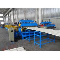 Quality Galvanized Roofing Double Layer Roll Forming Machine For Tile Roof And Flat Roofing Sheet wholesale