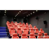 Quality Fantastic Truck Electric System 5D Movie Theater With Metal Flat Screen wholesale