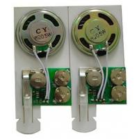 Quality Motion sensor music by pull-tab switch mini Recordable Sound Module for post card wholesale