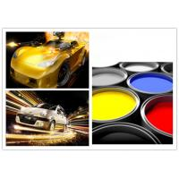 Buy cheap Decorative Multi Color Automotive Spray Painting , Auto Repair Top Coat Paint product