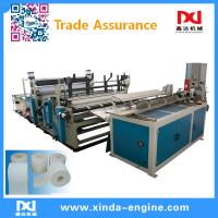 Quality full automatic toilet paper machine toilet paper production line toilet roll packing machine xinda wholesale