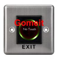Quality Stainless Steel No Touch Exit Switch / Door Button wholesale