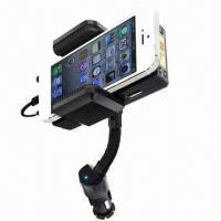 Quality Handsfree Hi-fi FM Stereo Transmitter for iPhone 5 wholesale