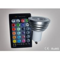 China Colour Changing Led Lights 3W GU10 Led Remote Control Lights ATF-RGB3WGU10 on sale