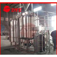 Quality 100L Micro Commercial Beer Brewery Equipment Ra0.4um Polishing Precision wholesale