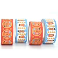 China Gift Box Packing 10mm*10m Die Cut Masking Tape on sale