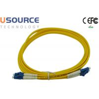 Quality Panduit F9E10-10M3Y OS1 Singlemode 9/125um Duplex Fiber Cords LC To LC Patchcord wholesale