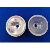 Quality Design / Custom Made OEM / ODM Ø70-M LED Reflector Lamp Cup PC Colorless Ø19.6% Clear Aperture wholesale