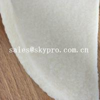 China Anti-slip white natural rubber sheet crepe sheet for shoe sole on sale