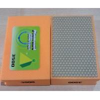 Quality 100mm Resin Hand Diamond Polishing Pads , Smoothing Out Irregular Surfaces wholesale