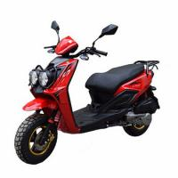 Quality 4 Stroke Air Cooling Gas Powered Scooters Street Legal Fashion Design Low Emission wholesale