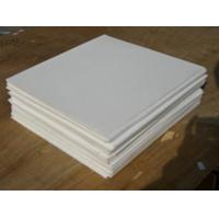 White And Black Color PTFE Sheet / 100 % Virgin PTFE Sheet Smooth Surface