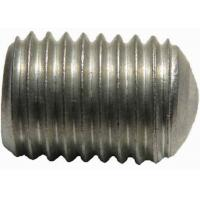 Quality Custom Aluminum Set Screw With Oval - Flat Point Made By Die Casting Mold wholesale