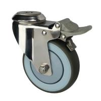 Quality stainless steel casters with hollow king pin wholesale
